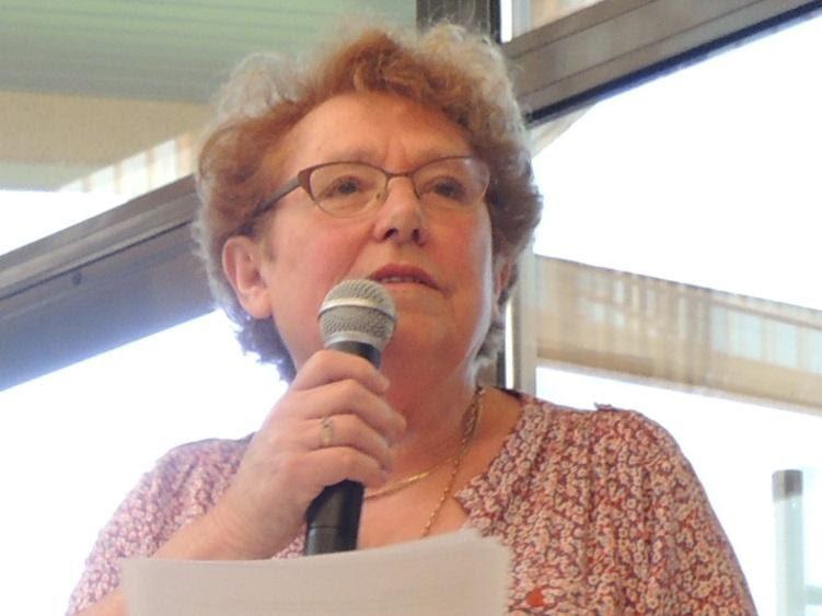 Présidente de l'association pour les personnes handicapees du perche Mme Michelle GUILBAULT